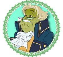 joy lefrog character regal academy. Black Bedroom Furniture Sets. Home Design Ideas