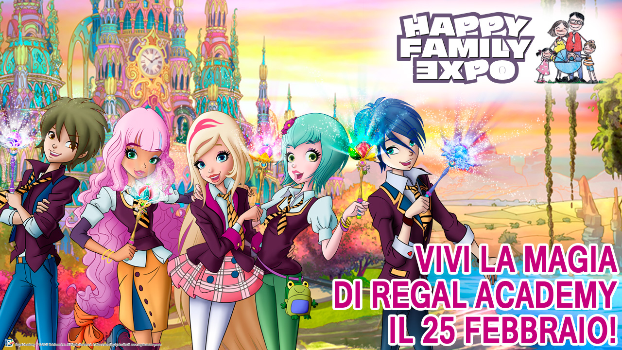 La favola di regal academy arriva a happy family expo for Disegni da colorare regal academy