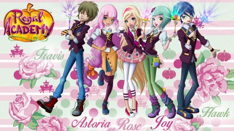 Rose, Astoria and Joy Print&Color | Downloadable | Regal ...